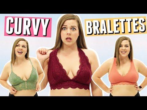Best Bralettes For CURVY Girls!
