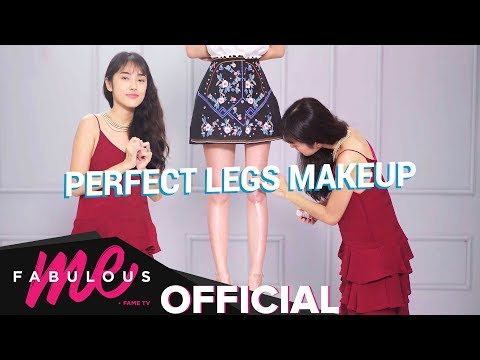[Fabulous Me] Beauty: Flawless Legs Makeup DIY | 4-Steps Makeup Tips with Misoa