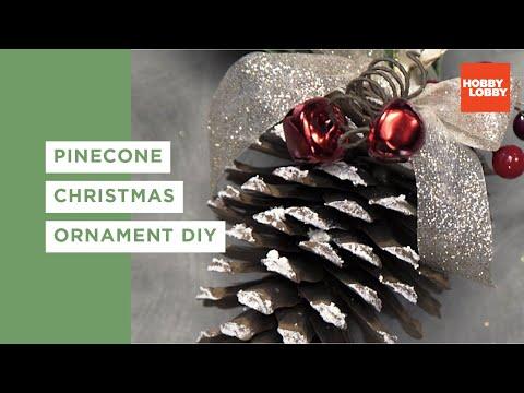 DIY Pinecone Ornament
