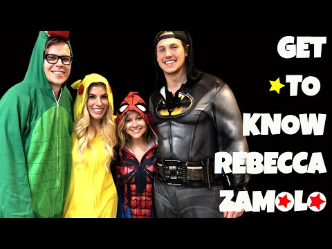 GET TO KNOW REBECCA ZAMOLO + MATT SLAYS | Shawn Johnson