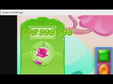 How to hack unlimited moves of CANDY CRUSH JELLY SAGA in windows 8,8.1,10 updated!!!