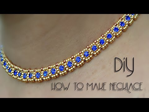 How To Make Necklace At Home | Necklace | Diy | Black Pearl