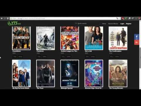 How to Download all last 720p, 1080p and 3D movies with a small capacity