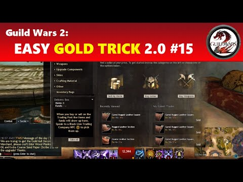 Guild Wars 2: Easy Gold Trick 2.0 #15