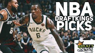 3/12/18 NBA DRAFTKINGS PICKS