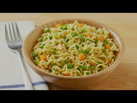 How to do a spicy vegetable maggi in Tamil