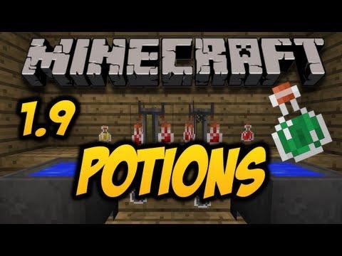 Minecraft 1.9 - POTIONS (HD)