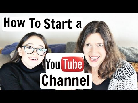 How To Start a YouTube Channel (for Your Daughter/Son/Kid) | Part 1 | Kimpressions ft. Fiona Frills
