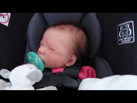 Day In The Life With Super Realistic Silicone Baby Doll   Shopping At Walmart   nlovewithreborns2011