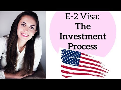 E2 Visa The Investment Process ✔️🇺🇸