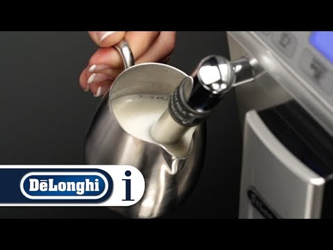 How to Make Hot Milk (Not Frothed) Using Your De'Longhi Autentica ETAM 29.620 Coffee Machine