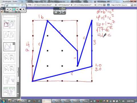 Find the Area and Perimeter of an Irregular Figure