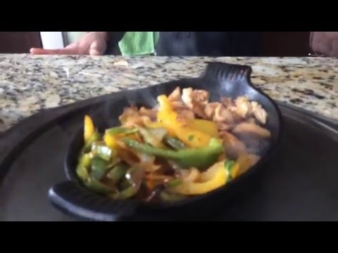 How to sizzle Fajitas- Sizzling Chicken Fajitas
