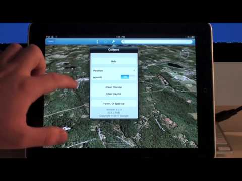 Google Earth App Review for iPad