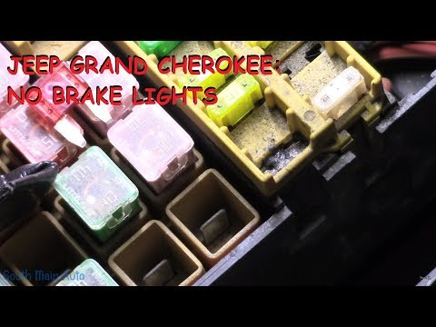 Jeep Grand Cherokee: No Brake Lights