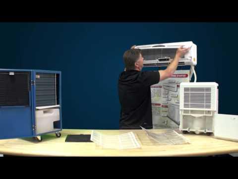Ideal Air Mini-Split and Dehumidifier Filter Maintenance