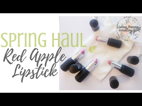 Red Apple Lipstick || Limited NEW Spring Colors