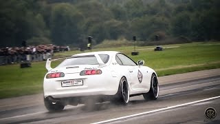 1030HP TOYOTA SUPRA TWIN TURBO - BRUTAL ACCELERATIONS!