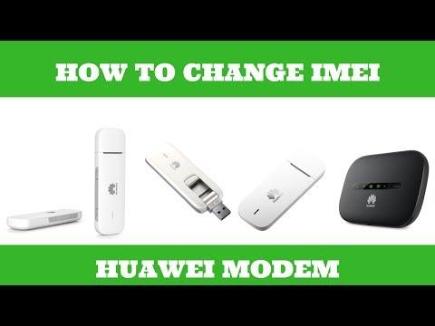 How to Change Huawei Modem IMEI