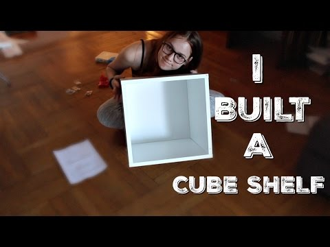 Watch Me Build A Cube Shelf!