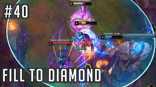 League of Legends but it's our first game in our new rank...