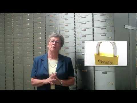 Opening a Safe Deposit Box
