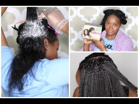 TEXLAX WITH KIDDIE PERM FAIL| I WANT TO CUT ALL MY HAIR OFF & GO NATURAL