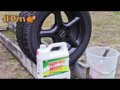 DIY: How to Clean Plasti Dipped Wheels