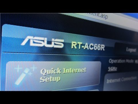 Forward Ports on an Asus RT-AC66R Router