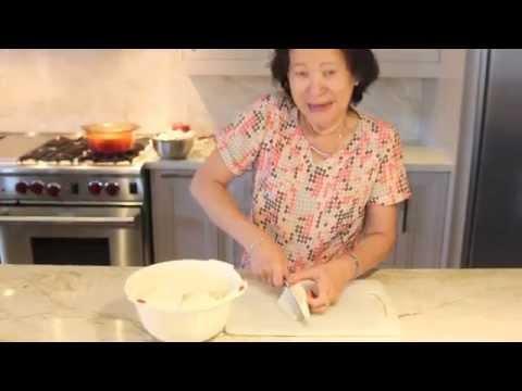 Khmer taro dessert- បង្អែម