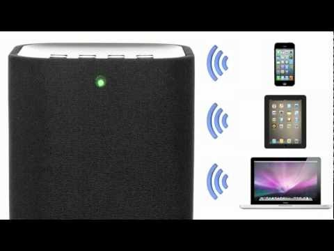 iHome iW3 Airplay Wireless Speaker System
