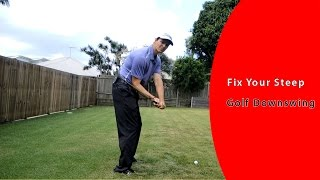 How to Fix a Steep Golf Downswing & Hit the Ball More Consistent