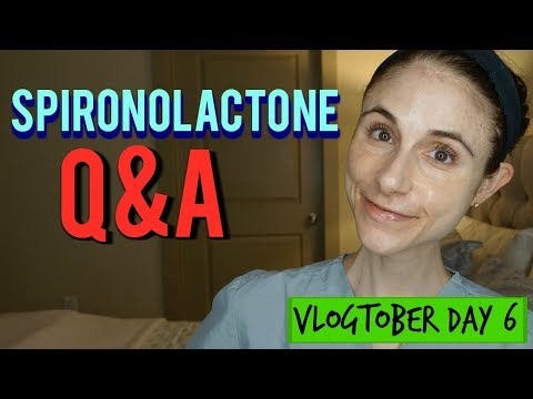 Spironolactone Q&A with a dermatologist| Dr Dray