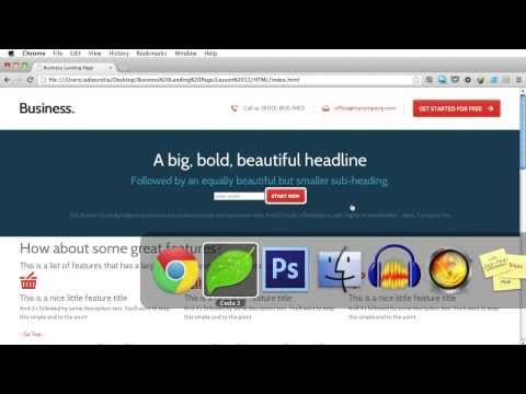 PSD to HTML - Lesson 12