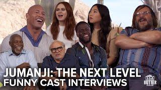 Jumanji: The Next Level | Funny Cast Interviews | Extra Butter