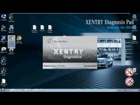 Windows 7 x86 Xentry PassThru Installation Part 2