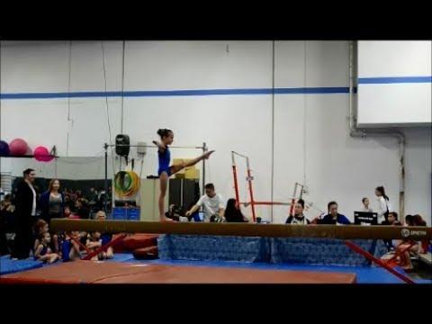 Gymnastics Level 2 Junior Olympic - Balance Beam, Bars, Floor Routine, Vault