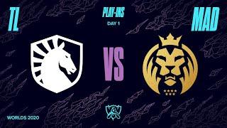 TL vs. MAD | Play-In Groups | 2020 World Championship | Team Liquid vs. MAD Lions (2020)