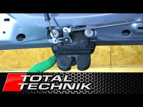 How to Remove Boot Tailgate Lock (Avant) - Audi A6 S6 RS6 - C5 -1997-2005 - TOTAL TECHNIK