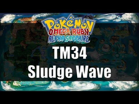 Pokemon Omega Ruby & Alpha Sapphire | Where to get TM34 Sludge Wave