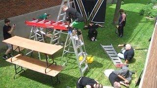 10-Man Genie In The Lamp Ladder Match - CHW Backyard Wrestling