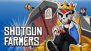 SHOTGUN FARMERS - KING OF THE BARN!!!