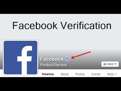 How to verify your facebook page 2017 new