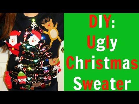 DIY: Ugly Christmas Sweater!!!