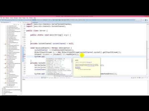 Java NIO - Transfer Object using SocketChannel