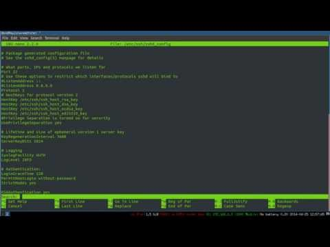 SSH on the Command Line -- 2: Setting up SSH