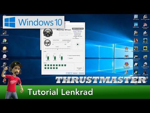 Tutorial   Thrustmaster Lenkrad Windows 10