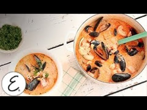 New England Style Salmon And Shellfish Chowder - Emeril Lagasse