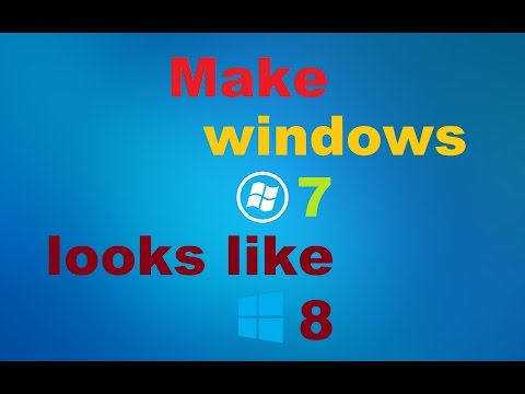 ►How to make Windows 7 looks Like Windows 8 ! (WinMetro)