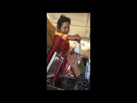Shame on AIR India flight- Plz read whole story with the video how bad they are with passengers